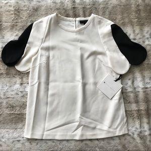 Victoria Beckham x Target Black & White Blouse